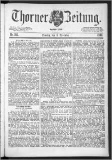Thorner Zeitung 1888, Nr. 266