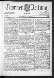 Thorner Zeitung 1888, Nr. 268
