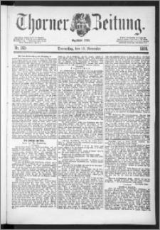 Thorner Zeitung 1888, Nr. 269