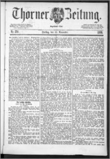 Thorner Zeitung 1888, Nr. 270