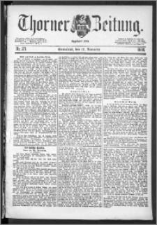 Thorner Zeitung 1888, Nr. 271
