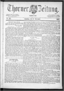 Thorner Zeitung 1888, Nr. 272