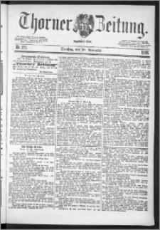 Thorner Zeitung 1888, Nr. 273