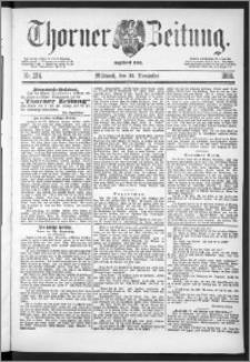 Thorner Zeitung 1888, Nr. 274