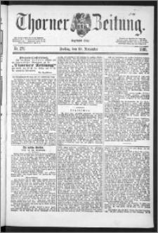 Thorner Zeitung 1888, Nr. 276