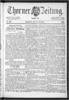 Thorner Zeitung 1888, Nr. 277