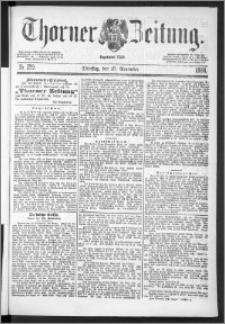 Thorner Zeitung 1888, Nr. 279
