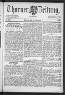 Thorner Zeitung 1888, Nr. 280