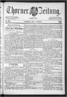 Thorner Zeitung 1888, Nr. 283