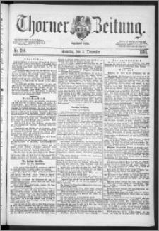 Thorner Zeitung 1888, Nr. 284 + Beilage