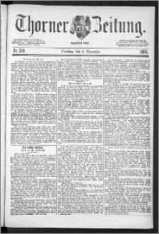 Thorner Zeitung 1888, Nr. 285