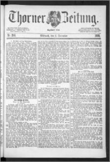 Thorner Zeitung 1888, Nr. 286