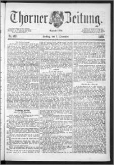 Thorner Zeitung 1888, Nr. 288