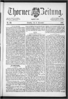 Thorner Zeitung 1888, Nr. 291