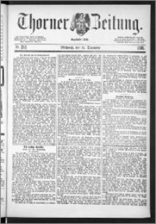 Thorner Zeitung 1888, Nr. 292