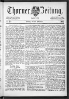 Thorner Zeitung 1888, Nr. 294