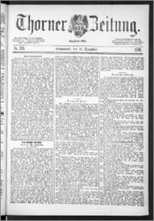 Thorner Zeitung 1888, Nr. 295