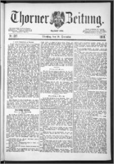 Thorner Zeitung 1888, Nr. 297
