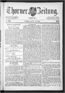 Thorner Zeitung 1888, Nr. 303