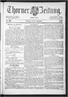 Thorner Zeitung 1888, Nr. 304