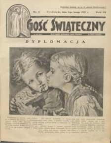 Gość Świąteczny 1929.02.03 R. XXXIII nr 5nr