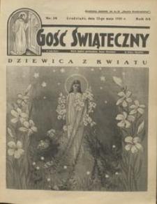 Gość Świąteczny 1929.05.12 R. XXXIII nr 19