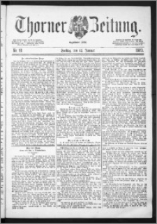 Thorner Zeitung 1889, Nr. 10