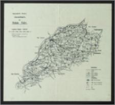 Regierungsbezirk Bromberg : übersichtskarte des Kreises Kulm