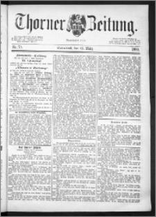Thorner Zeitung 1889, Nr. 70