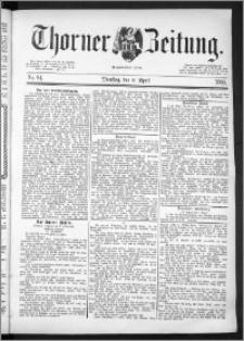 Thorner Zeitung 1889, Nr. 84