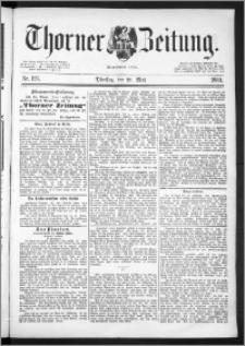 Thorner Zeitung 1889, Nr. 123