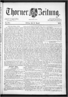 Thorner Zeitung 1889, Nr. 190