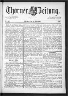 Thorner Zeitung 1889, Nr. 206