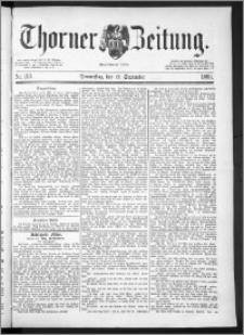 Thorner Zeitung 1889, Nr. 213