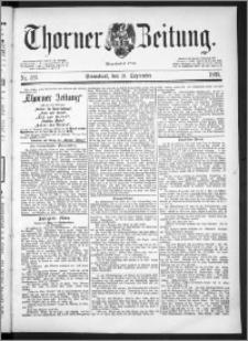 Thorner Zeitung 1889, Nr. 221