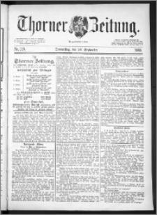 Thorner Zeitung 1889, Nr. 225