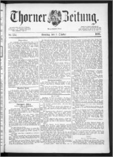 Thorner Zeitung 1889, Nr. 234 + Beilage