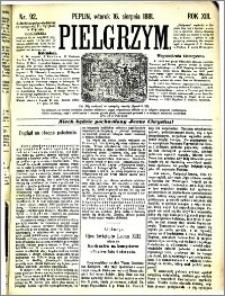Pielgrzym, pismo religijne dla ludu 1881 nr 92