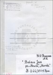 Belau Jan