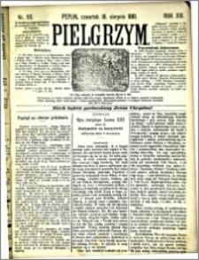Pielgrzym, pismo religijne dla ludu 1881 nr 93