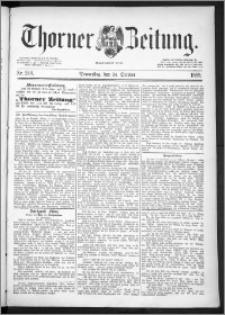 Thorner Zeitung 1889, Nr. 249
