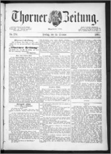 Thorner Zeitung 1889, Nr. 250