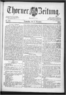 Thorner Zeitung 1889, Nr. 267