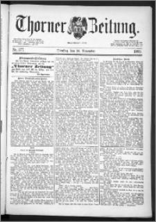 Thorner Zeitung 1889, Nr. 277