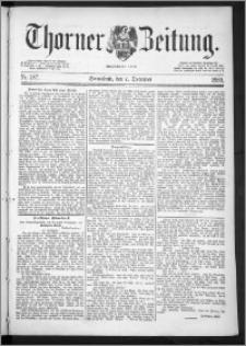 Thorner Zeitung 1889, Nr. 287