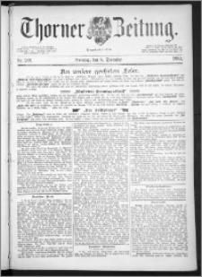Thorner Zeitung 1889, Nr. 288 + Beilage