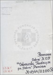 Odrowski Tadeusz