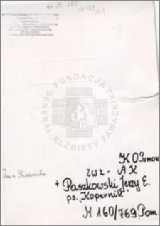 Paszkowski Jerzy