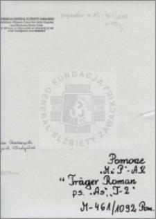 Traeger Roman