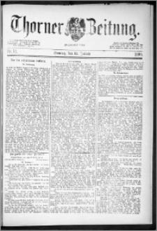 Thorner Zeitung 1890, Nr. 10 + Beilage